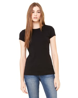 Bella+Canvas 1001 - Ladies Baby Rib Short-Sleeve T-Shirt