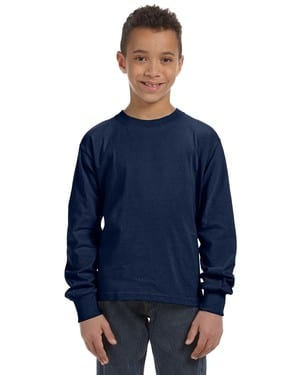 Fruit of the Loom 4930B - ® Youth 8.3 oz., 100% Heavy Cotton HD® Long-Sleeve T-Shirt