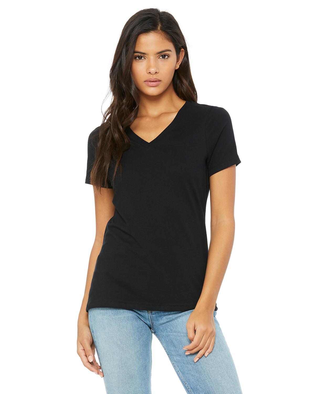 2347ddc8 Bella+Canvas 6405 - Missy Jersey Short-Sleeve V-Neck T-Shirt | Needen